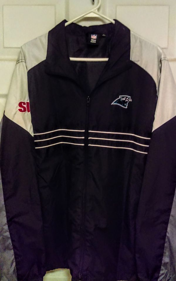 newest 3dffd 0bbe9 Carolina Panthers Windbreaker for Sale in Hickory, NC - OfferUp