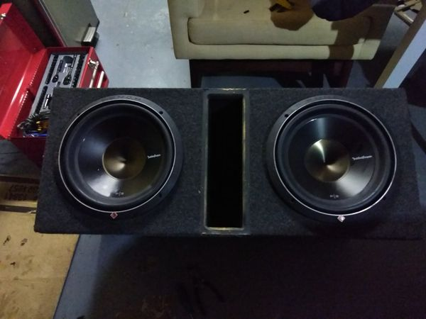 Rockford Fosgate P3 12 inches subwoofers with box for Sale in Hudson, FL -  OfferUp