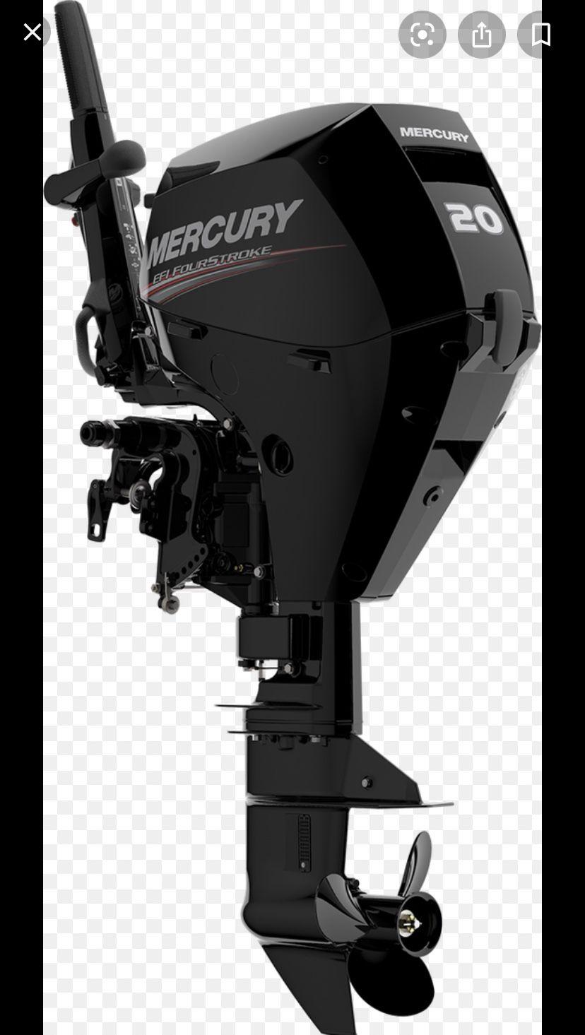 Photo Mercury outboard