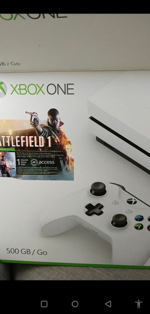 XBOX One, nearly new used once. for Sale in Carlsbad, CA