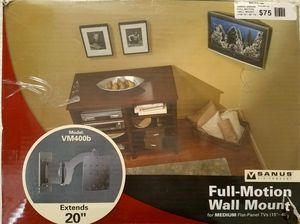 Sanus Full Motion TV Wall Mount for Sale in Columbus, OH