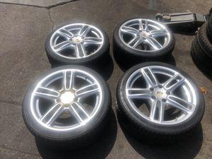 Porsche wheels 19 inch and Michelin tires $800 for Sale in Monterey Park, CA