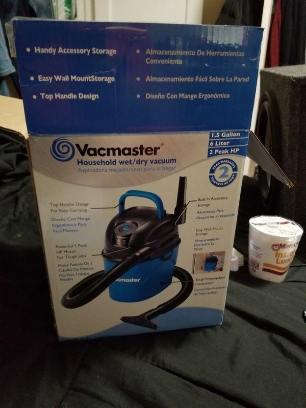 Vacmaster 1.5-Gallon Wet//Dry Vac