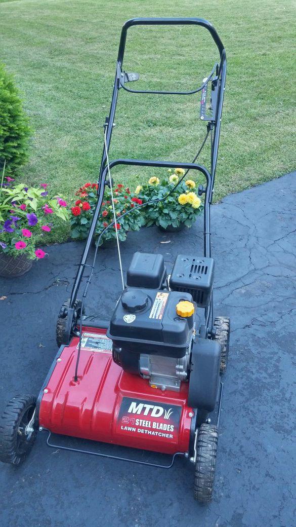 Mtd 21 Quot Steel Blade Lawn Dethatcher Mower For Sale In Massillon Oh Offerup