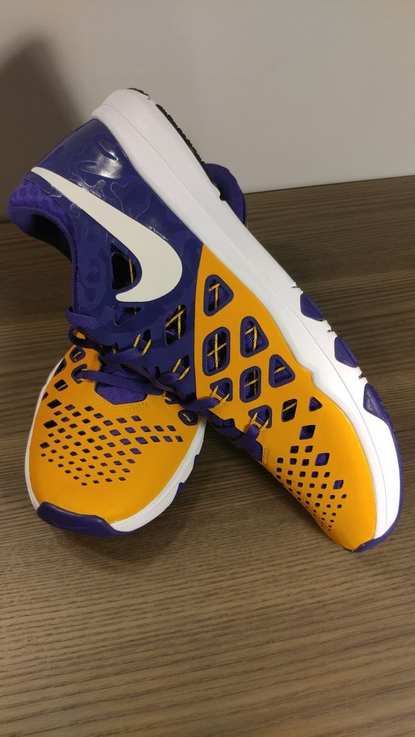 8124b887d7a248 Nike Train Speed 4 AMP LSU Tigers Shoes Men s Size 11.5 for Sale in ...