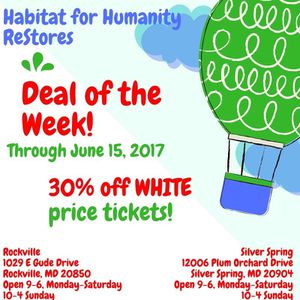 Deal of the Week at Habitat ReStores! for Sale in Derwood, MD