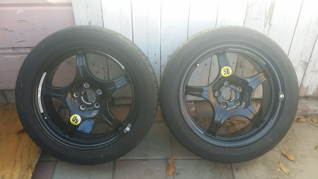 2 wheel with brand new tires