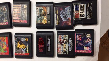 Loose sega Genesis games Thumbnail