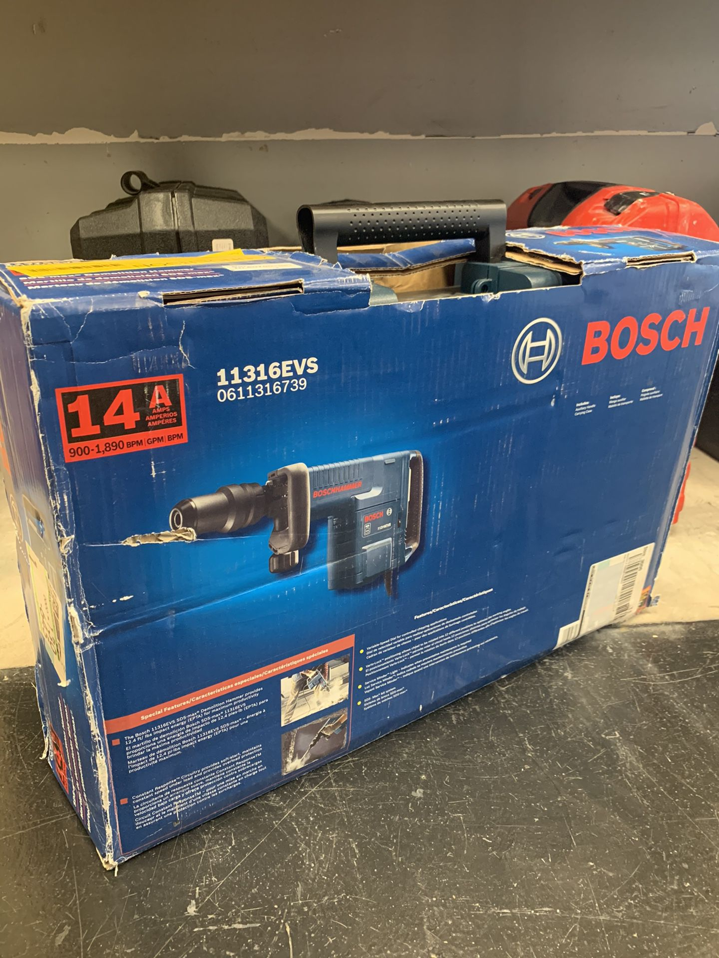 BOSCH Demolition Hammer Gun