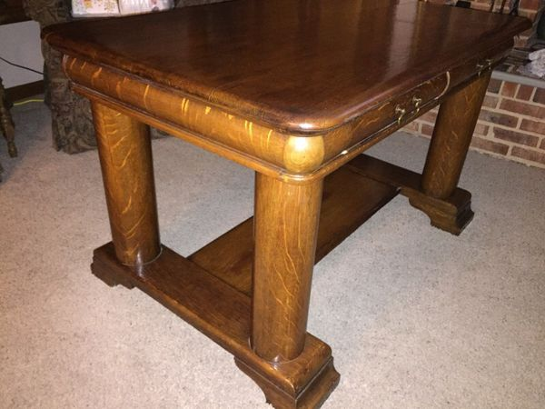 - Vintage Antique Library Table (Furniture) In Charlotte, NC - OfferUp