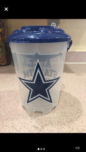 Photo Dallas Cowboys AT&T Stadium Popcorn Bucket