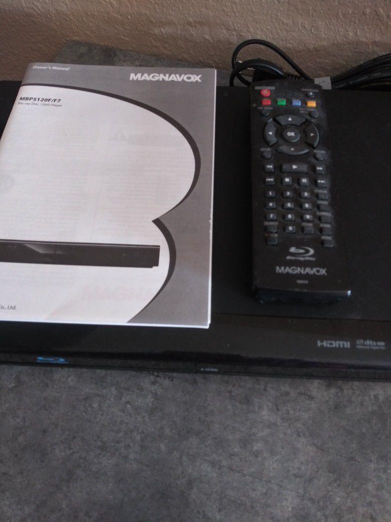 Magnavox Blu Ray DVD Player
