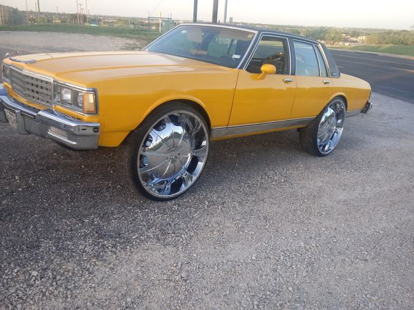 1985 Chevy caprice all original..clean TITLE...on 30s ...