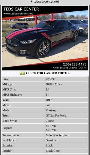 New And Used Mustang For Sale In Huntsville Al Offerup