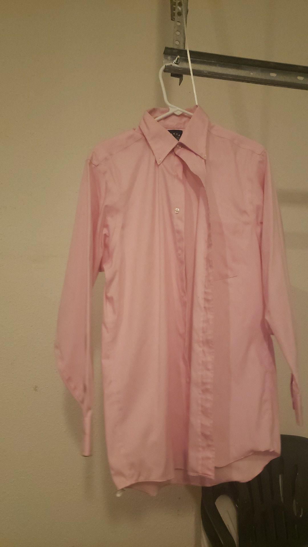 Mens dress shirt and sweater long and short sleeved