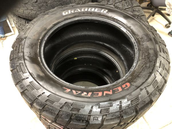 Used Tires San Jose >> 4 General Grabber Used Tires Size 35 X 12 50 R20 For Sale In San Jose Ca Offerup