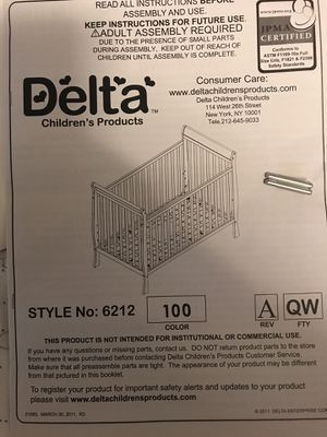 Baby crib for Sale in Arlington, VA