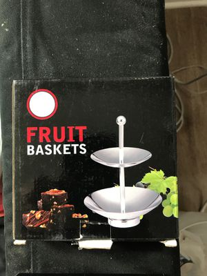 Fruit or cookies basket - 2 pieces for Sale in Fairfax, VA