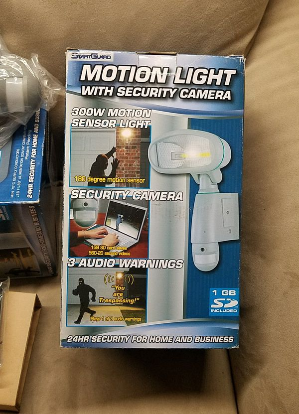 Smart guard motion light w security camera new in box video smart guard motion light w security camera new in box video equipment in torrance ca offerup aloadofball Choice Image