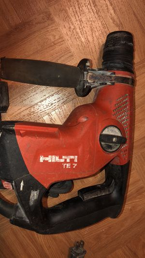 Hilti TE 7 hammer drill for Sale in Alexandria, VA