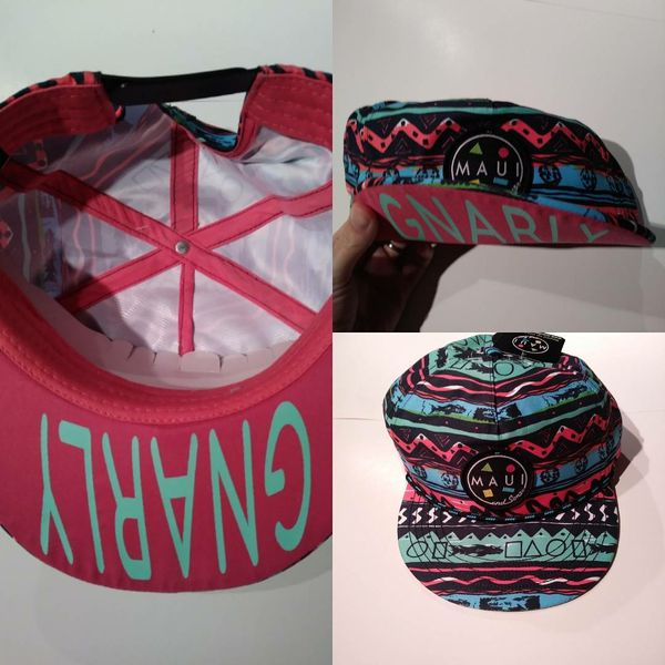 Maui and Sons Gnarly Flip up Snapback Hat. 90s Retro Style. NWT. for Sale  in Roseville 491015bc790
