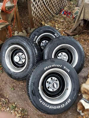Photo Chevy wheels