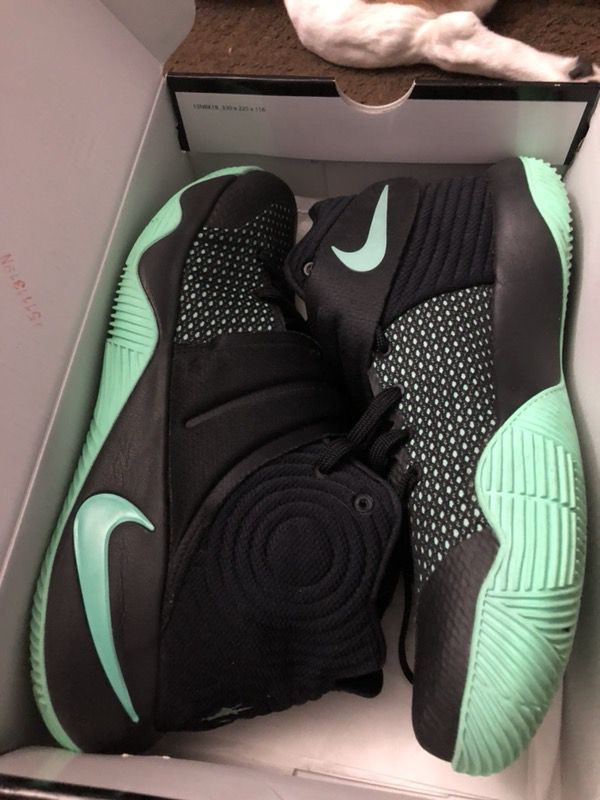 promo code 4393b 1f1b8 netherlands nike kyrie 3 pe 53fed f679a  coupon for kyrie 2 green glow  clothing shoes in spring hill fl offerup 652ec a957a
