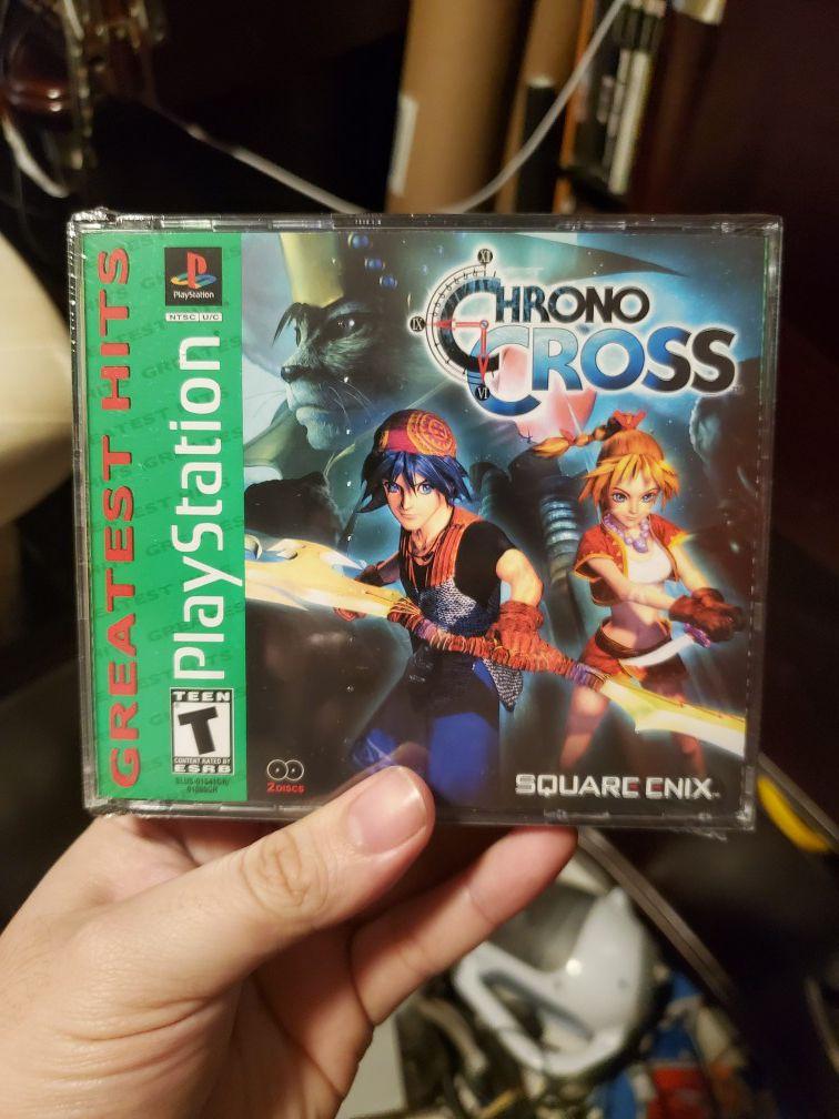 Chrono cross brand new sealed playstation one psx