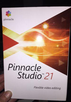 Pinnacle Studio 21 for Sale in Denver, CO