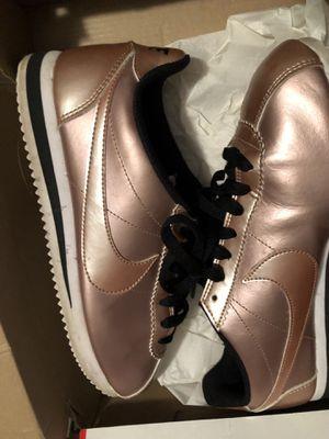 Women's metallic leather bronze Nike Cortez for Sale in Richmond, VA