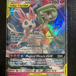 Gardevoir Sylveon GX 130/214 Ultra Rare Holo Unbroken Bonds Sun And Moon Pokemon Thumbnail