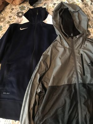 Nike and adidas jacket for Sale in Columbia, MD