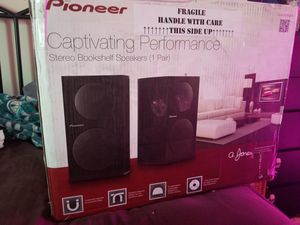 Pioneer SP BS21 LR Bookshelf Speakers For Sale In San Diego CA