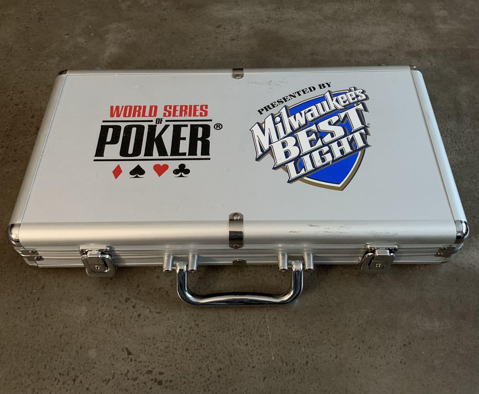 OFFICIAL WORLD SERIES OF POKER - Poker Set