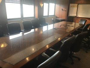 15 foot executive table for Sale in Salt Lake City, UT