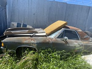 Photo 72 SS chevy el camino complete car with engine and transmission good project