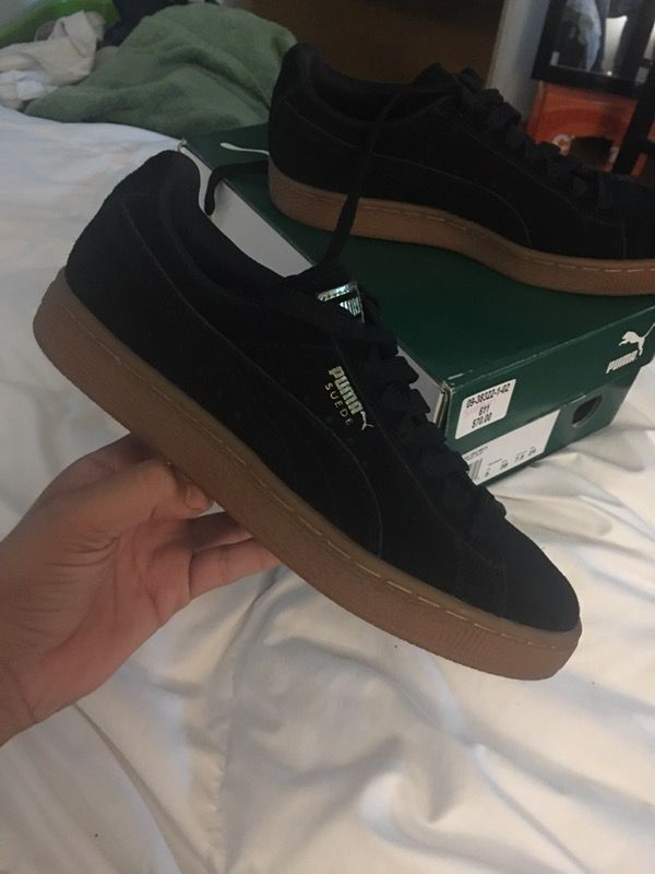 1bdea41ce Black Gum Bottom Pumas for Sale in Inglewood