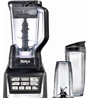 Nutri Ninja 72-Oz. Blender Duo with Auto IQ - Black/Silver for Sale in Gaithersburg, MD