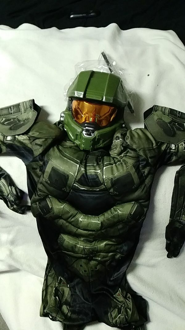 HALO Master chief kids Halloween costume for Sale in Sacramento, CA -  OfferUp