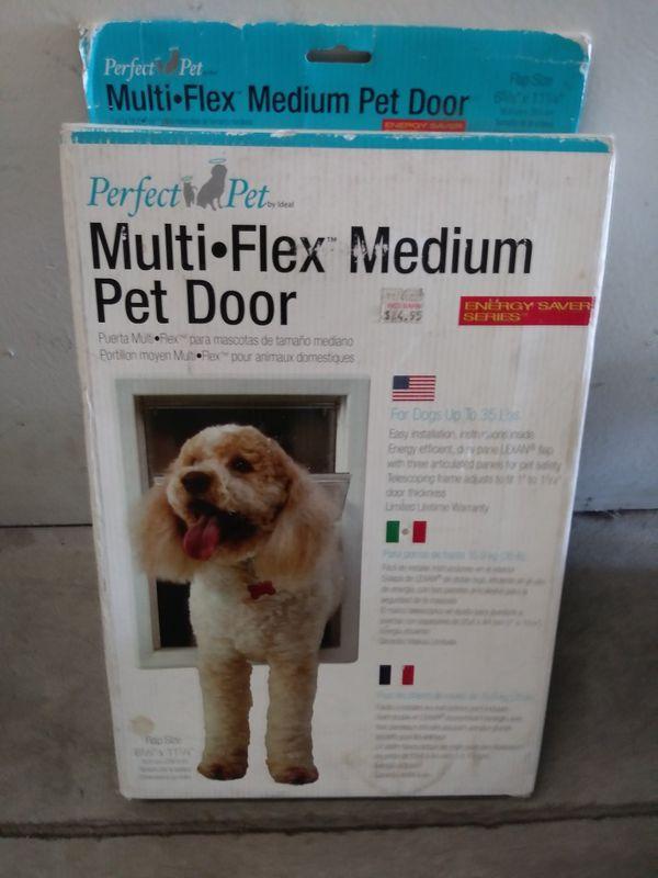 Perfect Pet Multi Flex Medium Pet Door For Sale In Los Angeles Ca