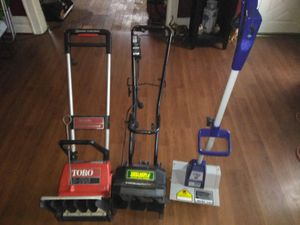 Electric Snowblowers. 20$ Each. Update. Toro is sold. for Sale in Detroit, MI