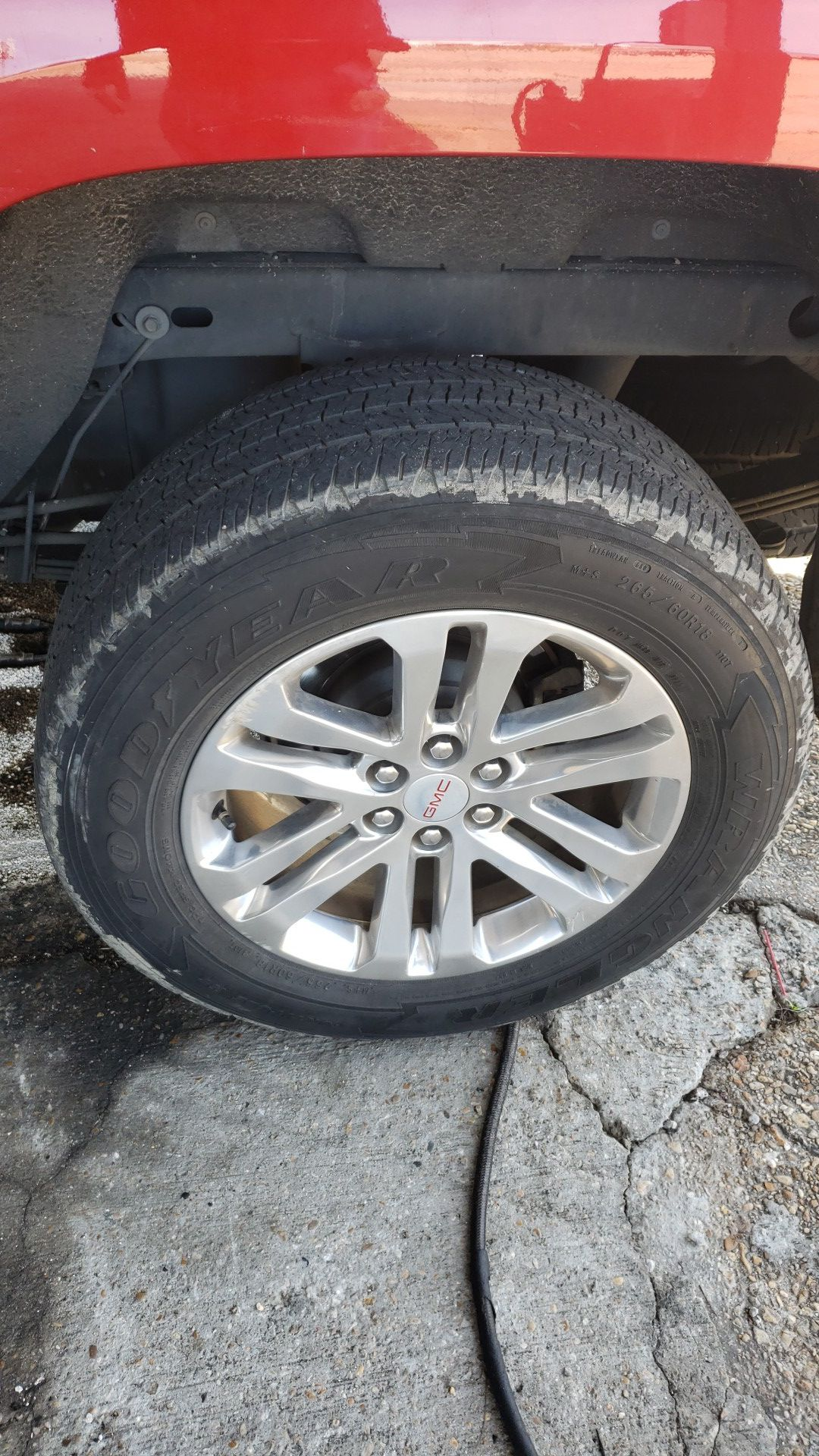 Canyon take offs 18 in make offer 6x120 bolt pattern