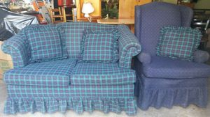 Beautiful couch and chair for Sale in Silver Spring, MD