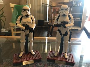 Star Wars hot toys storm troopers 2 pack for Sale in Tempe, AZ