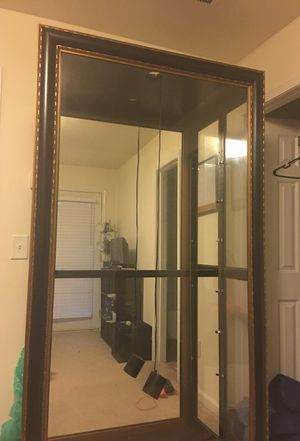 Sliding Glass Armoire w/ Glass Shelves for Sale in Atlanta, GA