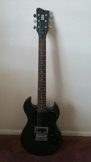 Electric guitar black 222 for Sale in Saint Cloud, FL