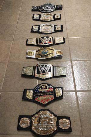 Wrestling Belts (8). for Sale in Rockville, MD