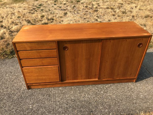 Danish Teak Credenza For Sale : Danish teak credenza for sale in tacoma wa offerup
