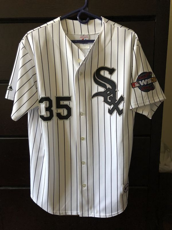a6802b3d330 2005 Authentic Majestic Frank Thomas Chicago White Sox World Series Jersey