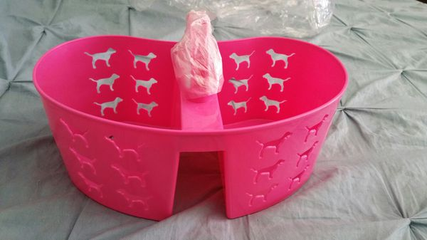 cd45c3f28b0b6 Victoria's Secret PINK shower caddy for Sale in Plainfield, IL - OfferUp